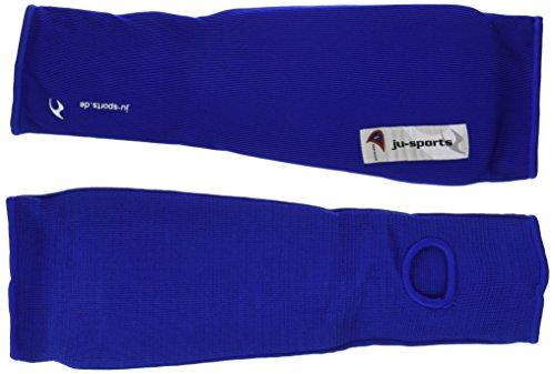 Ju-Sports Schienbein-Spannschoner, blau, M, 6102002