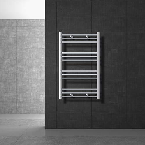 ECD Germany Radiador toallero de baño DHK Towel - 600 x 700...