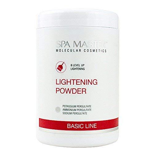 Spa Master Poudre de Blanchiment des Cheveux Blanchissant jusqu'à 8 Niveaux 900g Sans Poussière