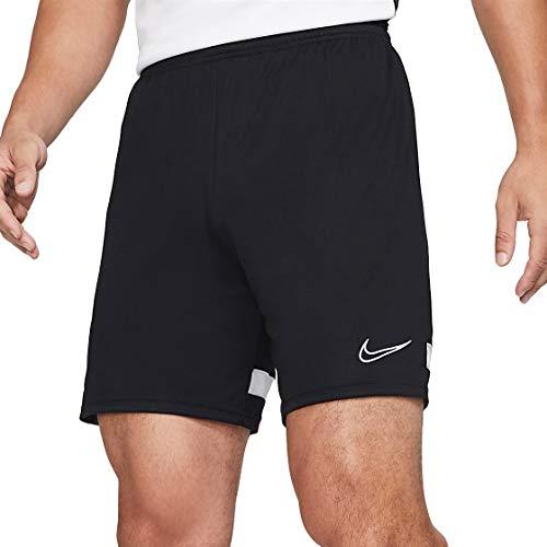 NIKE Dri-fit Academy - Pantalones Cortos de fútbol para Hombre Nero/Bianco/Bianco/Bianco XXL