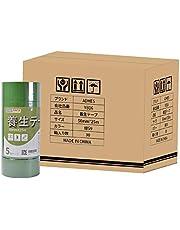 ADHES 養生テープ ガムテープ マスキングテープ 養生用 仮固定用 幅50mm*長さ25m 5巻入り (YC16-中粘着)