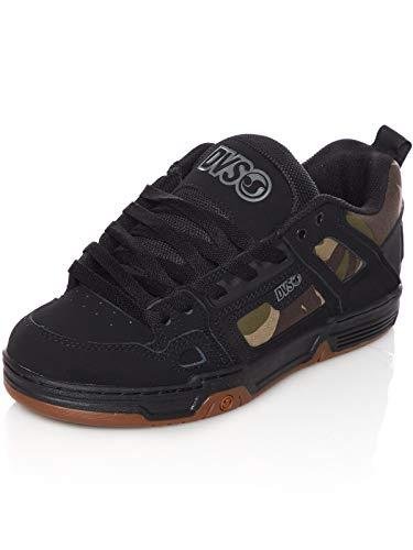 DVS Herren Comanche Skateboardschuhe, Schwarz (Black Camo Nubuck 983), 44 EU