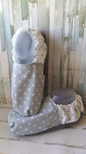 Saquitos termicos, saco termico de semillas Zapatillas calentables en microondas, de andar por casa, pantuflas calentables, calienta pies, saquitos de semillas, hecho a mano