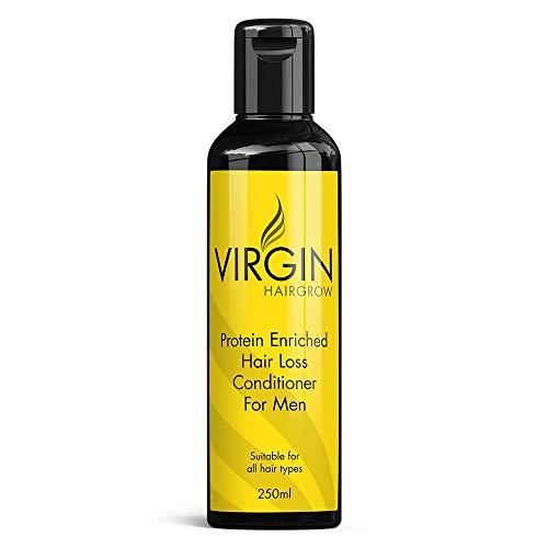 Virgin for Men Hair Loss Conditioner por la pérdida de los hombres de pelo Acondicionador Detener Balding y estimula el crecimiento del cabello
