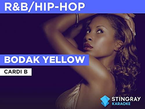 Bodak Yellow in the Style of Cardi B ✅