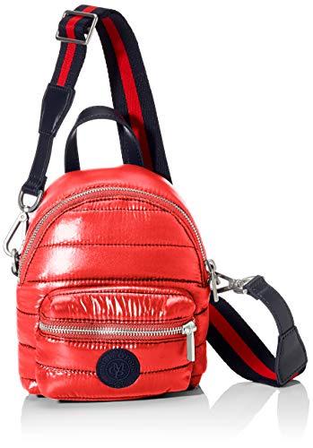 Marc O'Polo Damen Fine Umhängetasche, Rot (Rouge Red), 9x22x20 cm