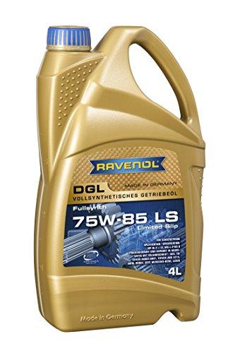 RAVENOL DGL SAE 75W-85 / 75W85 GL5 LS Vollsynthetisches Getriebeöl (4 Liter)