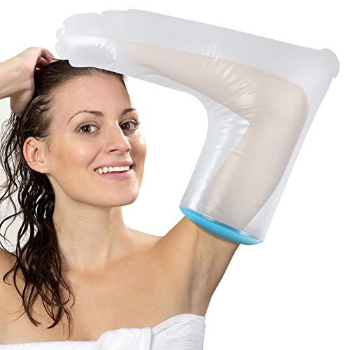 [ 2020 Neueste] DOACT Wasserdichter Gipsschutz Arm für für Männer und Frauen, Wasserdichter Armprotektor Abdeckung für Bandage beim Baden Halten Trocken (62 cm)