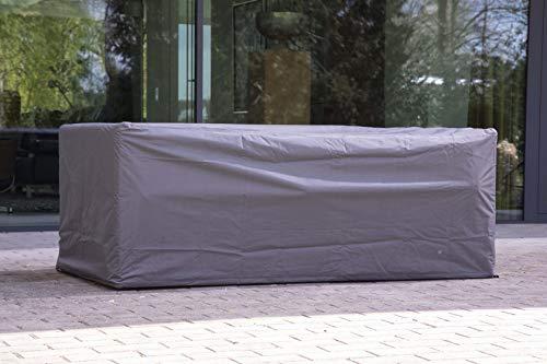 Tuintafel loungebank beschermhoes 185x105x75 cm premium beschermhoes tuintafel
