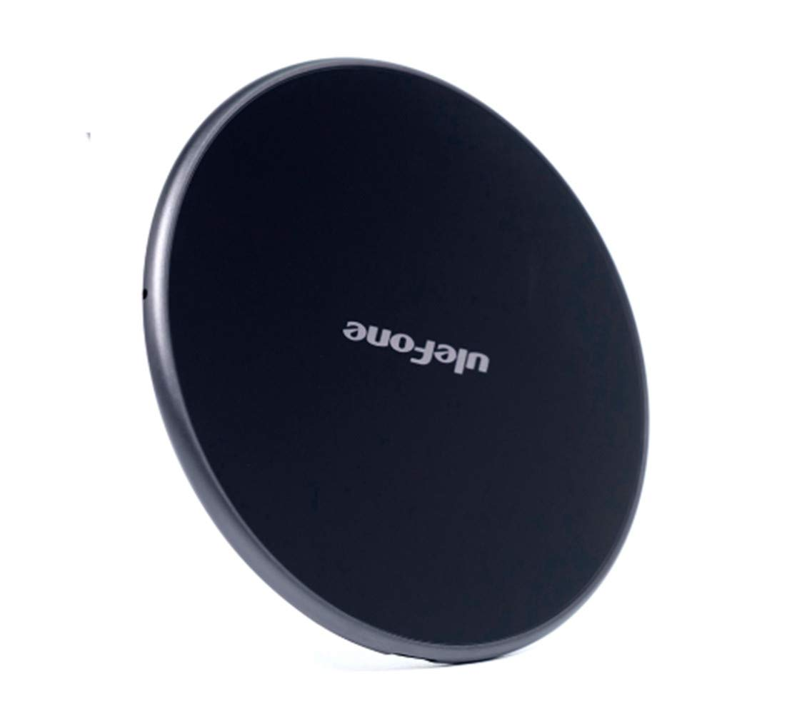 Ulefone UF002 10W 9V Wireless Fast Charging Pad Charger Desktop Charger Leather for Samsung iPhone BLU Blackview BV9800 PRO Ulefone Armor 7 Armor 6s Doogee S95 PRO