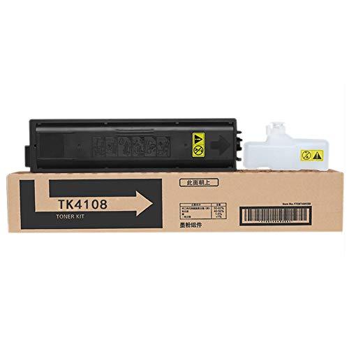 EODPOT TK-4108 Kit De Tóner,for Kycoera TaskAlfa 1800/1801/2200/2201 Copiadora, 7,200 Páginas Negras De, Cartucho De Tinta Remanufactured Remanufactured De Alta Capacidad D 2 pcs Black