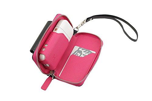 Preisvergleich Produktbild German Couture GC Etui für IQOS Pocket Charger 2.0-2.4 + Plus Heets,  CC Premium Kunstleder mit aufklappbaren Heet-Halter Design by Lifestyle and Fashion,  Germany