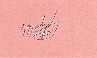 Mark Murphy Signed - Autographed Green Bay Packers 3x5 inch Index Card - Guaranteed to pass BAS - Green Bay Packers Hall of Fame - Beckett Authentication