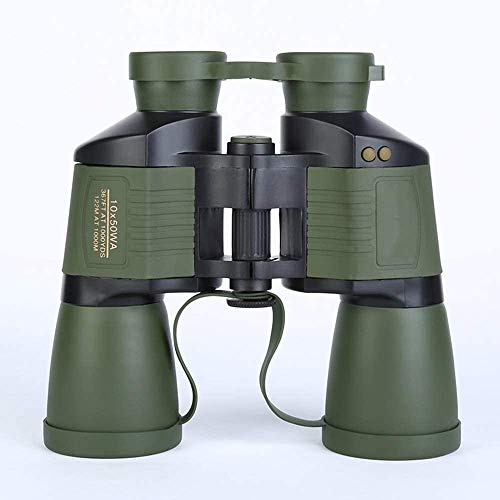 Verrekijkers 10X50 High-definition verrekijker Adult Outdoor Travel Low-light Night Vision Autofocus Telescope Life Waterproof Green 190 * 65 * 185mm outdoor telescoop zhihao