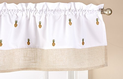 Saturday Knight R7089500013V09 Welcome Valance, Multicolor, Rod