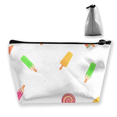 Ice Cream Makeup Bag Capacity Bags Hand Travel Wash Bag
