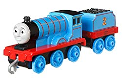 Includes die-cast metal engines and vehicles Features plastic connectors to attach to other Push Along and Motorized TrackMaster engines, vehicles, cargo cars or tenders (sold separately and subject to availability) Highly detailed to reflect the ...