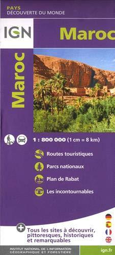Carte Maroc 1:800 000