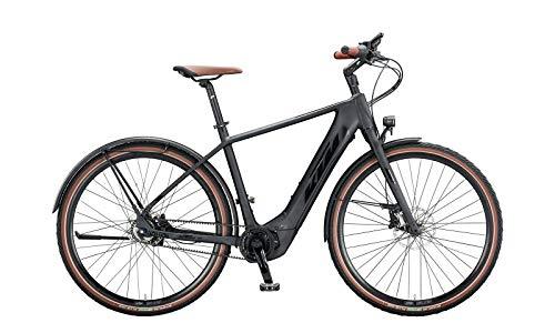 """KTM Macina Gran 610 Bosch Elektro Fahrrad 2020 (28\"""" Herren Diamant 56cm, Black Matt/Black Glossy (Herren))"""