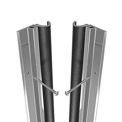 Stormguard Qlon Metal Around Door Seal Durable Draught Excluder Weather Proofing ADS Strip Premium. (Aluminium)