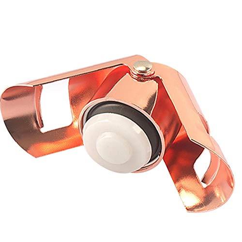 Burbuja de la Botella de champán tapón de Acero Inoxidable Enchufe sellador a Prueba de Fugas Superior retención de Ahorro para el Vino espumoso de Oro Rosa