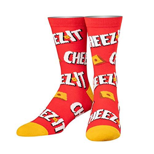 Retro Unisex Cheez it Crackers Crew Socks
