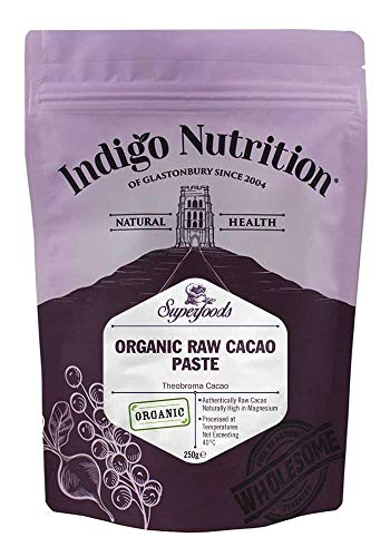 Indigo Herbs Rohe Bio Kakaopaste 250g