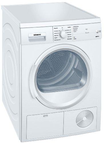 Siemens iQ300 WT46E103 iSensoric Kondenstrockner / B / 7 kg / softDry-Trommelsystem / TouchControl Tasten / Knitterschutz / Super40-Programm