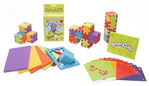 Smart Cube 6-pack - 6 puzzle cubes en mousse