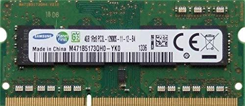 Samsung - Memoria RAM de 4 GB SoDIMM M471B5173QH0-YK0 PC3L-12800S 1600 MHz DDR3 1Rx8 691740-001