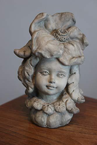 Unbekannt Figurine en résine pour Enfant en Forme de Coquelicot 12 cm