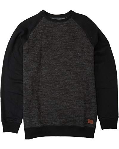 Billabong Men's Balance Crew Neck Sweatshirt, Black, M