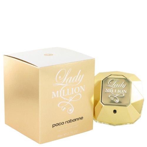 Lady Million Eau De Toilette Spray for Women, 2.7 oz.