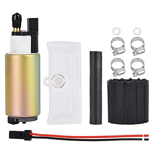 New Electric Intank Fuel Pump Replace# E2157 Compatible with 1990 1991 1992 1993 1994 1995 1996-2004 Ford; 1993-2002 Lincoln & Mazda;1990-2001 Mercury; Mitsubishi, Acura, Jaguar, KIa Fuel Pump