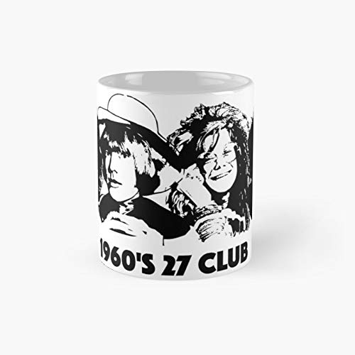 Gifts for The 1960's 27 Club Lovers You from Monofaces in 2020 Classic Mug | Best Gift Funny Coffee Mugs 11 Oz