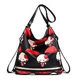 Bolso de hombro para mujer, de Notag, impermeable, de nailon, multifuncional, para viajar., color, talla Large