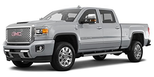 2017 GMC Sierra 2500 HD Denali, 2-Wheel Drive Crew Cab 153.7', Quicksilver Metallic