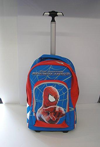 SPIDERMAN trolley zaino scuola 2014/2015 THE AMAZING spiderman 2