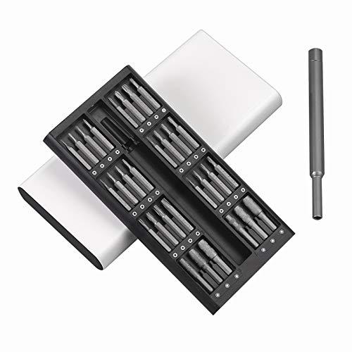 COLFULINE 63 in 1 Kit di Cacciaviti Magnetici, Set Cacciaviti di Precisione Professionale, Cacciaviti Multifunzione per Riparasione di Occhiali, Smartphone, Cellulare, PC, Laptop, Elettronica