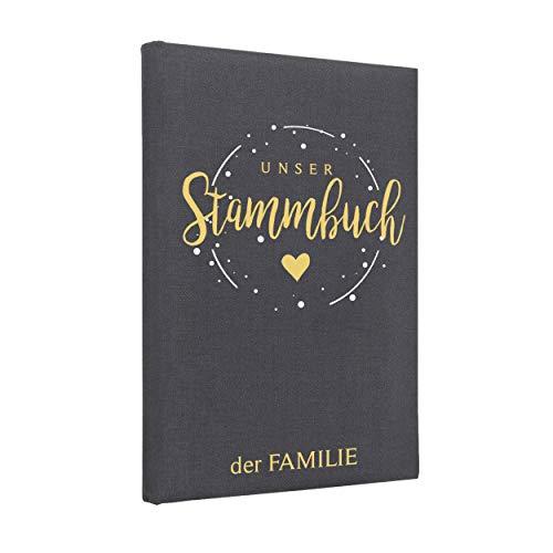 Hochzeitideal Stammbuch der Familie Corella Farbe Einband dunkelgrau