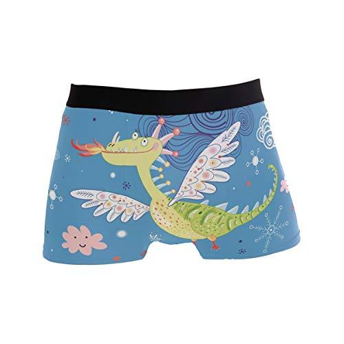 KAIHONG Kinder S Horoskop Sternzeichen Kids Leo Sign Herren Boxershorts Weiche Personalisierte Unterwäsche mit verdecktem Bund Gr. L, mehrfarbig14