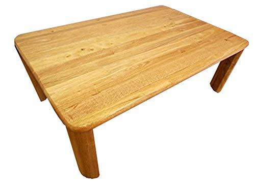 LT-3396 NA 折れ脚ローテーブル 幅90cm 奥行60cm 高さ32cm