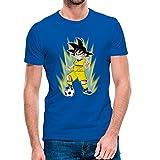 Ropa4 Camiseta Goku Villarreal CF 2021-2022 (4 años) (Azul)