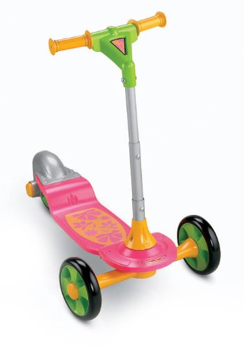 Fisher-Price Grow With Me Sit-to-Stand Scooter - Pink