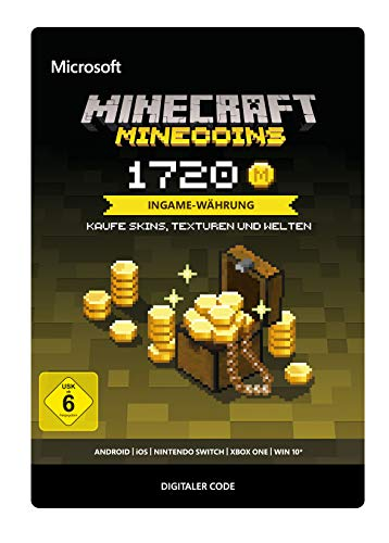 Minecraft: Minecoins Pack: 1720 Coins | Multiplattform