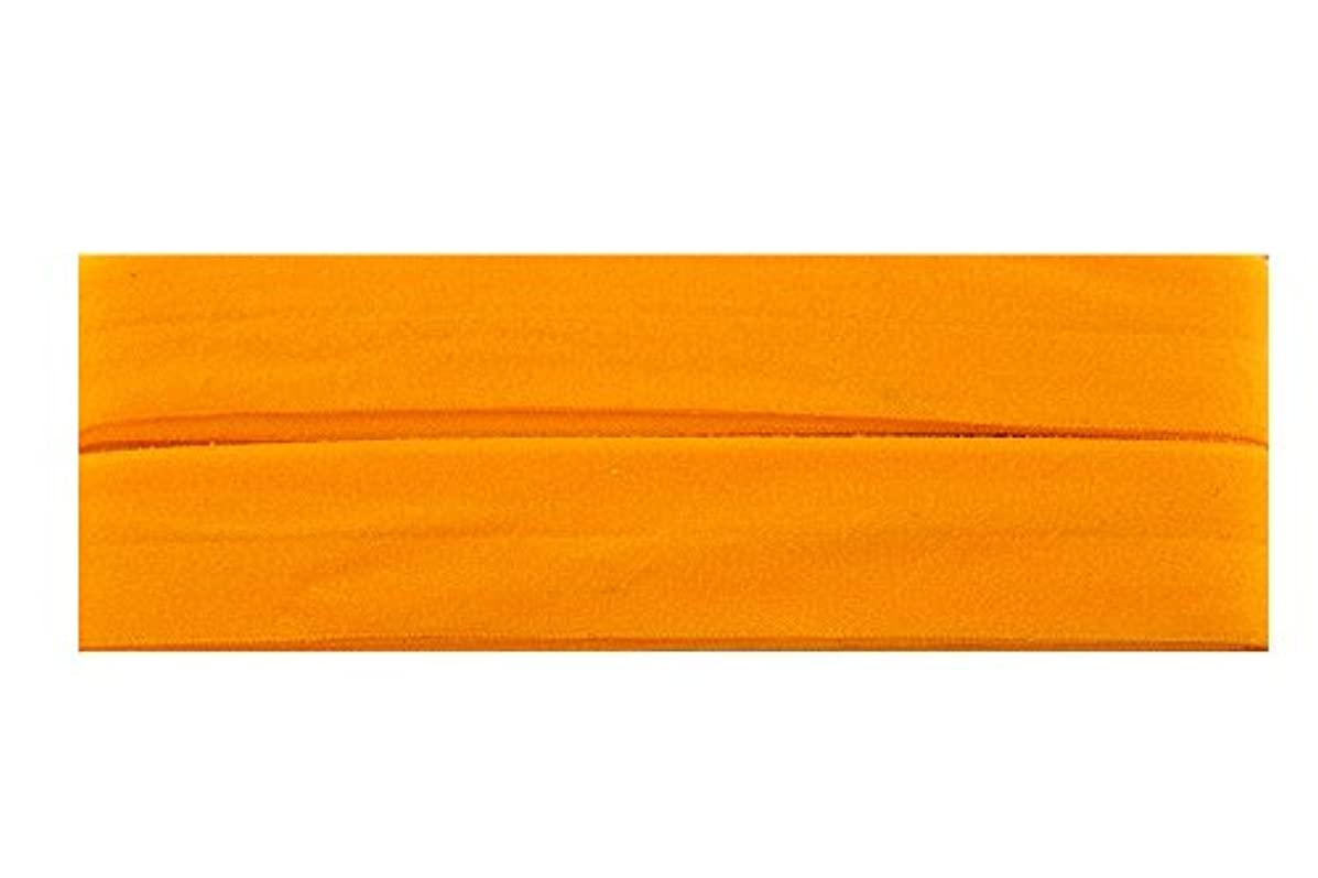 Trimweaver 7/8-Inch Fold Over Elastic for Craft, 5-Yard, Yellow Gold