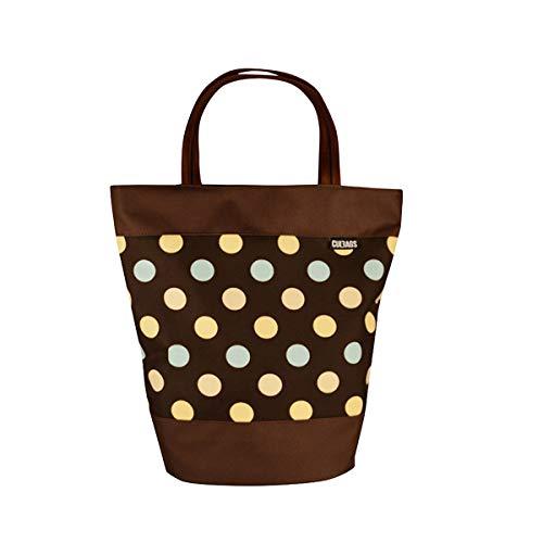 C-BAGS Shopper Polka DOTS Gepäckträger Fahrradtasche Tasche Verschiedene Muster (141.003)