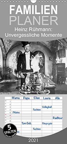 Heinz Rühmann: Unvergessliche Momente aus seinen besten Filmen - Familienplaner hoch (Wandkalender 2021, 21 cm x 45 cm, hoch)