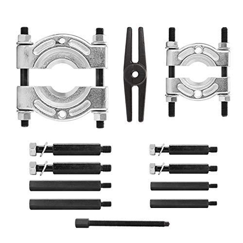 Set van 12 stuks lagers scheidingsset lager removal tool set bar type splitter tandwiel trekker vliegwiel tool kit 35-50 mm 50-75 mm