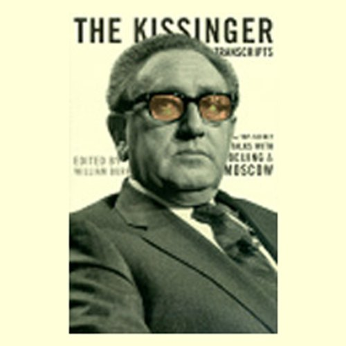 The Kissinger Transcripts audiobook cover art